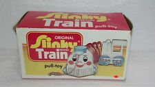 VINTAGE ORIGINAL SLINKY BRAND TRAIN PULL TOY IN BOX