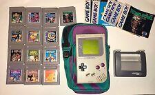 Original Nintendo Gameboy With 13 Games Everything Works!