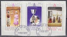 Solomon Islands 1977 Θ Mi.331/33 Regentschaft Silver Jubilee Queen [sq7125]