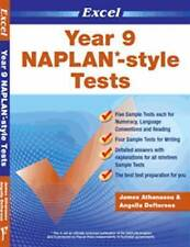 Lk NEW Excel NAPLAN-style Tests Year 9  9781741251944