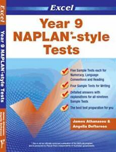 NAPLAN-style Tests: Year 9 by James A. Athanasou (Paperback, 2010)