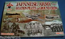 REDBOX 72052 WW2 JAPANESE ARMY AVIATION PILOTS & GROUNDCREW 1/72