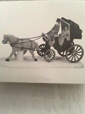 """Dept 56 """"Central Park Carriage"""" #59790 Heritage Village Collection W/Box"""