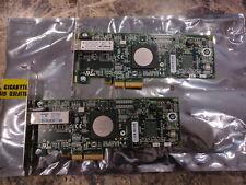 PAIR HP 397739-001 FC2142SR 4GB SINGLE CHANNEL PCI-E FIBRE CHANNEL HBA