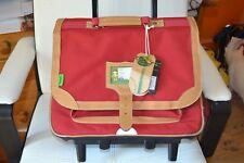 cartable trolley neuf tann's rouge classic gibeciere 38 cm le dernier en rouge