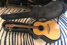1996 Ovation Standard Balladeer 1751 Twelve String Acoustic Electric 12 USA Case