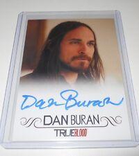 TRUE BLOOD Premiere Edition Autograph Tradding Card Dan Buran/Marcus Bozeman