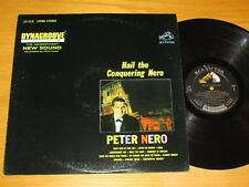 """LIVING STEREO ORCHESTRA LP - PETER NERO - RCA 2638 - """"HAIL THE CONQUERING NERO"""""""
