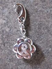 NEW Ladies Breast Cancer Awareness Watch  KEY RING KEY CHAIN