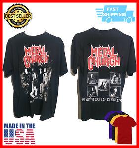 Metal Church blessing disguise shirt Vintage Unisex Black Size S-5XL
