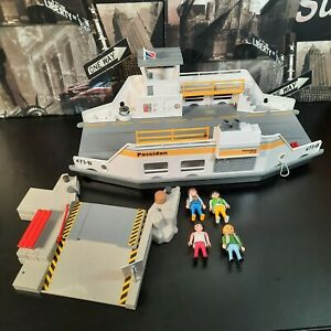 Playmobil Ferry 5127 - Incomplete - Good Condition With Selection Of Figures