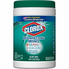 NEW Clorox Disinfecting Wipes Fresh Scent  4 Pack  105 Each Packaging May Vary