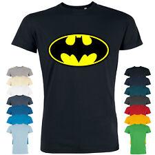 rs20 Herren T-Shirt Leads Batman | Kurzarm Freizeitshirt Aufdruck Print Fitness