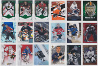 Goalie Parallels Inserts Rookie RCs Numbered Cards - Choose From List - NHL