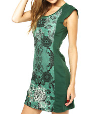 ROBE DESIGUAL LOVE LOVE BABY Green Taille L