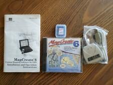 Mapcreate 6 Usa Mapping Navigation Software Lowrance Gps Lei Card Reader & Disc