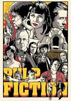 PULP FICTION Movie PHOTO Print POSTER Film Art Quentin Tarantino Uma Thurman 007