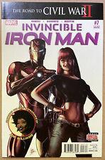 INVINCIBLE IRON MAN comic # 7 ~ RARE 3rd Print RIRI WILLIAMS Variant Cover NM