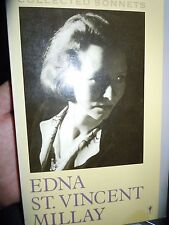 Edna Et. Vincent Millay Collected Sonnets Poetry Book 1st Perennial Library Ed.