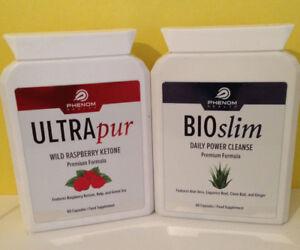 Ultrapur Wild Raspberry Ketone (60Caps) & Bioslim Daily Power Cleanse (60Caps)
