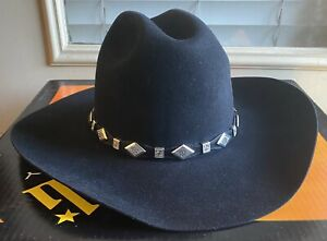serratelli Beaumont Hat in Black Size 7 And 3/4