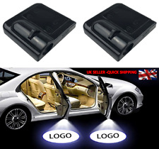 Pair Wireless Car LED Door Welcome Projector Logo Ghost Shadow Laser Light SET