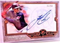 2017 Topps Museum Collection Archival Autograph Francisco Lindor AUTO 21/50!