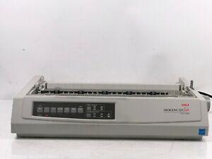 Okidata Microline 321 Turbo Computer Printer Works