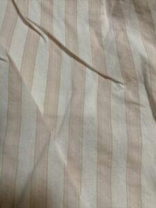 Rachel Ashwell Shabby Chic Kids Twin Dust Ruffle Bed Skirt Pink/White Stripes