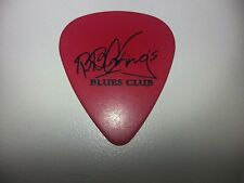 BB King signature Red guitar pick Lucille Thrill is Gone Concert Greatest hits