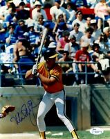 MARK MCGWIRE EARLY SIGNED JSA CERTED 8X10 PHOTO AUTOGRAPH