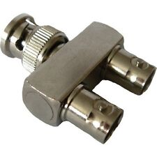 "Bnc ""Y"" Adapter F-F->M - Lot of 5 ( Cb915 )"