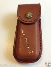LEATHERMAN DISCONTINUED BROWN LEATHER WAVE CASE  BRAND NEW