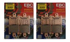 Yamaha FJR1300 3P6 2006-2009 Set of EBC HH Front Brake Pads FA423/4HH
