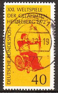 BRD 1972 Mi. Nr. 733 TOP Rundstempel / Vollstempel Gestempelt LUXUS! (6124)