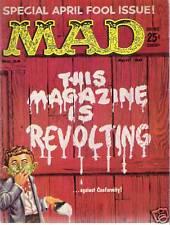 MAD MAGAZINE #54 (APRIL 1960) VERY FINE