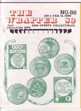 THE WRAPPER #88 - 1990 Non-sports cards fanzine - I LOVE LUCY, METTALIC cards