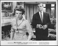 ~ Stanley Baker Billie Whitelaw LOT 4 Original 1960 Photos Hell is a City Hammer