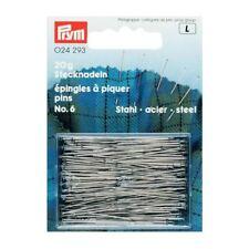 Stecknadeln Stahl 6 EF silberfarbig 0,60 x 30 mm 13,60€//100g