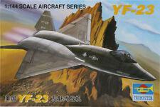 NUEVO Trompetista ESTADOS UNIDOS 1/144 Avión Modelo yf-23 Gris Ghost MILITAR