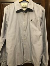 SCOTCH AND SODA FLEECE LINED MENS BUTTON DOWN SHIRT-SIZE L-EX COND
