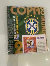 UPDATE STICKERS WC WM 2010 EDITION PANINI BRAZIL