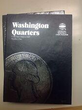 Washington Quarters Collection folder # 1 1932 to 1947