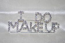 I Do Makeup Crystal Pin Cosmetologist Salon Cosmetics Mary Kay Free Shipping