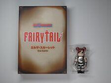 Medicom Toys Fairy Tail Erza Scarlett Bearbrick 100% Figure Rare Japan