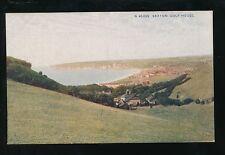Devon SEATON Golf House c1920s? PPC sport