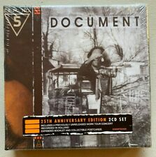"R.E.M ""Document"" 25th anniversary 2-CD box set-MINT/SEALED"