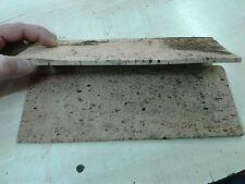 1 tavola Sughero naturale 27x10 cm spesso 5 mm minuterie presepe miniature crib