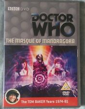 Doctor Who The Masque Of Mandragora DVD Tom Baker as Dr Who FACTORY SEALED