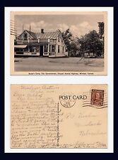 CANADA ONTARIO WINDSOR BOOSE'S CAMP TO G A KUEHN MURDOCK NEBRASKA JUNE 26 1936